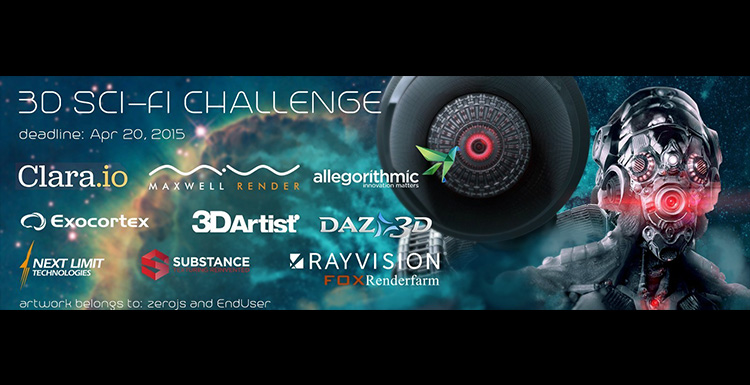 RAYVISION Sponsors 3D CG Sci-Fi Challenge for Aspiring Graphic Designers