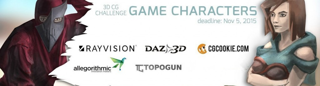 Are You Ready for New CG Game Character Challenge?