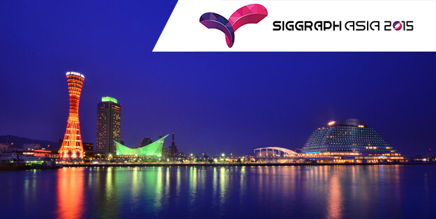 RAYVISION Attended SIGGRAPH Asia 2015 in Kobe, Japan