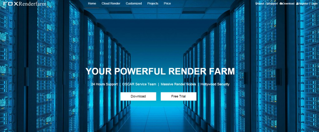 Fox Renderfarm Website Layout is Upgraded Now!