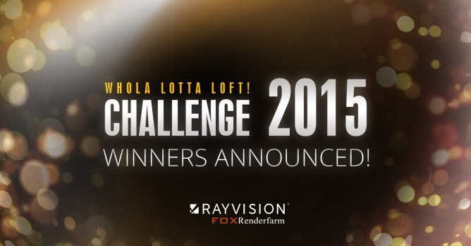 FoxRenderfarm Sponsored Evermotion Challenge 2015 Result Announced
