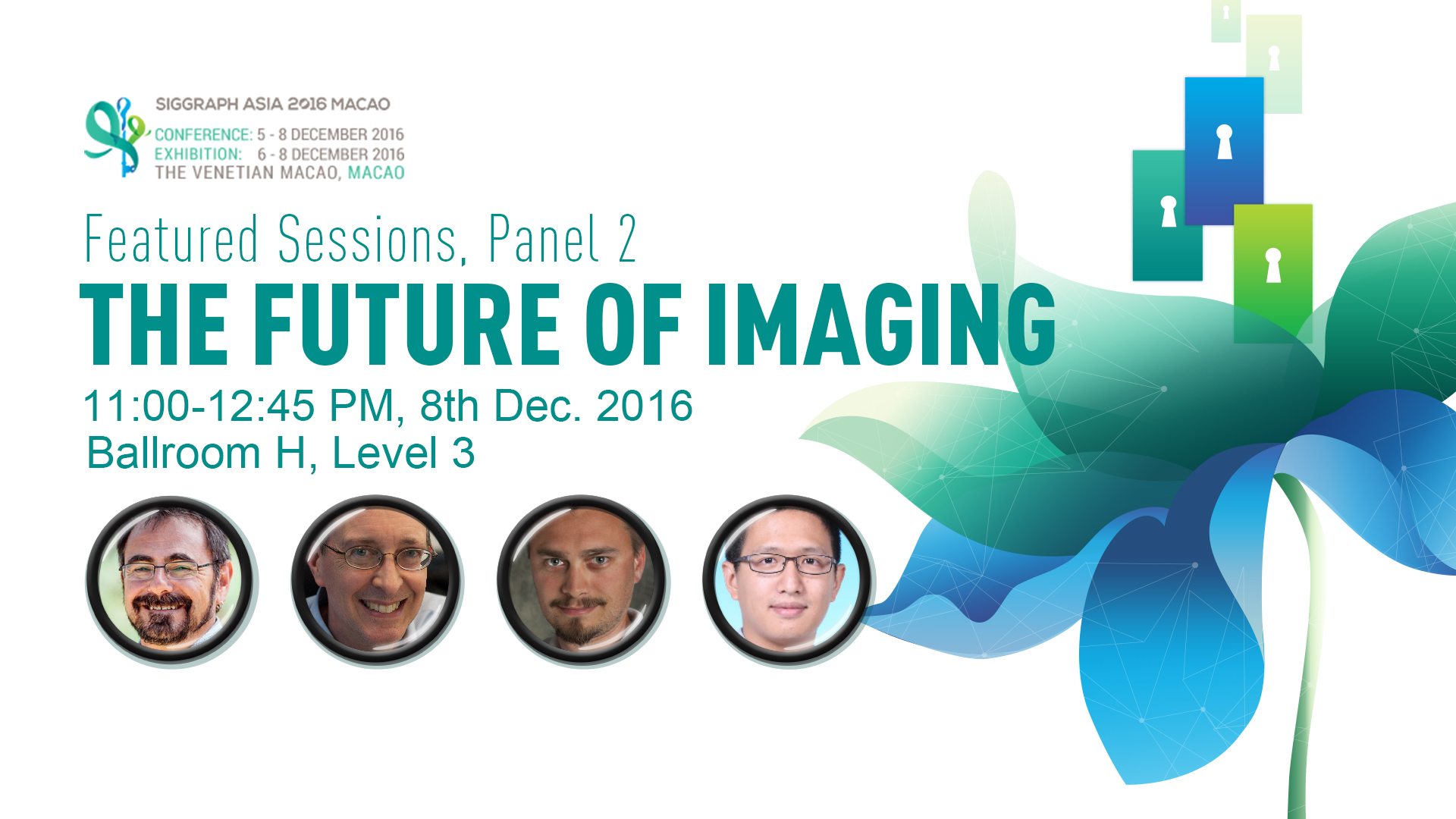 SIGGRAPH Asia | Featured Session Panel 2: The Future of Imaging