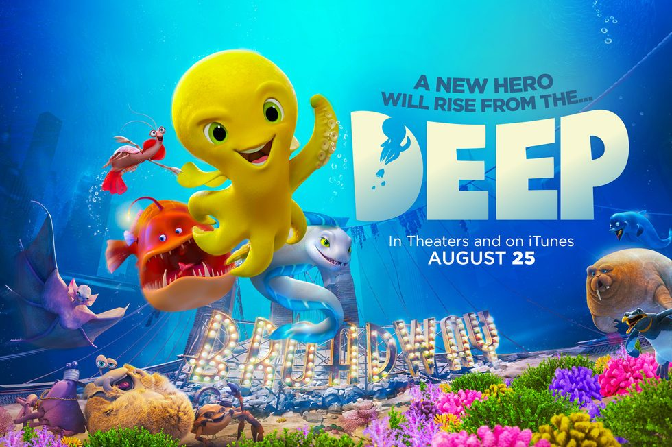 Award Winning Filmmaker Julio Soto Releases New 3D Animated Feature Film Deep