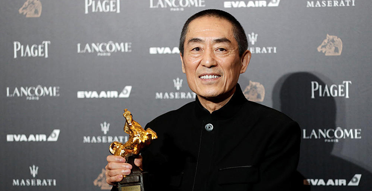 Zhang Yimou Won The Golden Horse Award For Best Director With Shadow