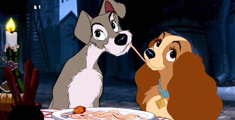 Disney Will Shoot the True Dog Edition of Lady and the Tramp