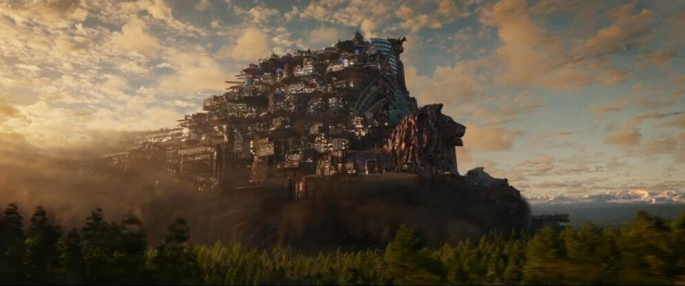Peter Jackson Builds A Real-Life City of The Sky In The End of The World