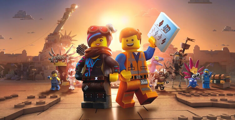 DC Heroes Together In Film The Lego Movie 2: The Second Part