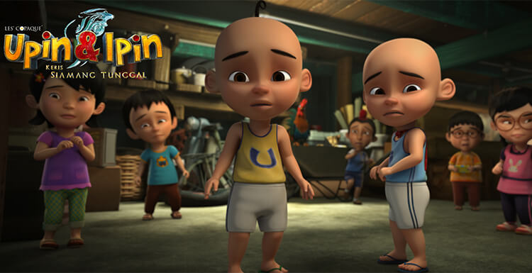 """Upin & Ipin: Keris Siamang Tunggal"" Rendered With Fox Renderfarm"