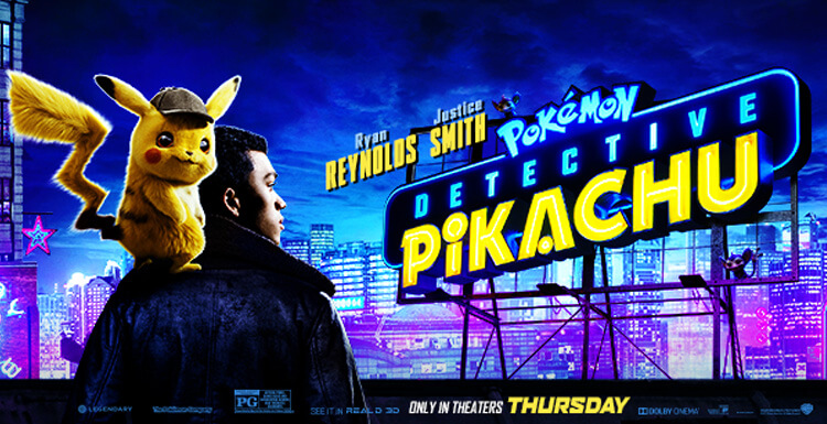 Visual Effects To Create a Real Pokémon, Live-action Movie Detective Pikachu Is Released