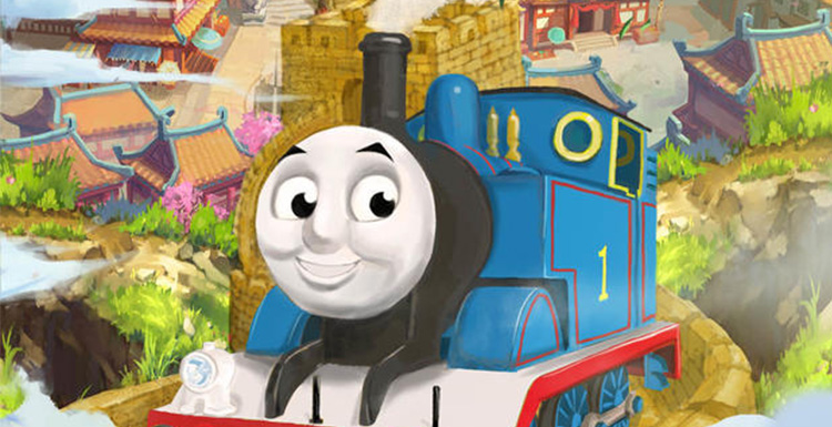 Thomas & Friends: Big World! Big Adventures! The Movies Reveals A Chinese Style Poster