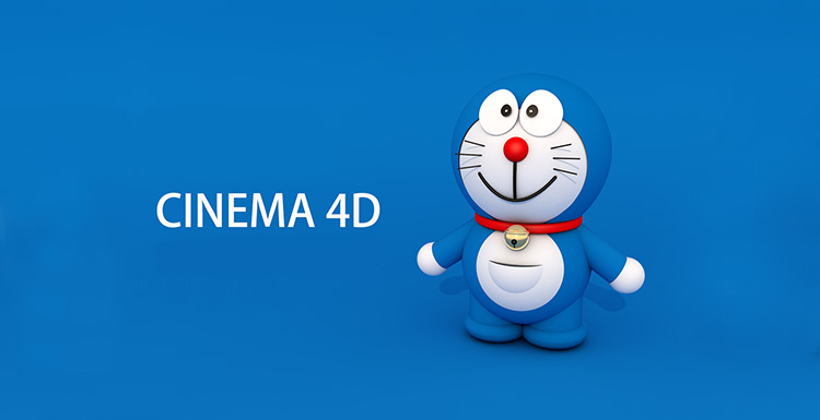 A Doraemon Modeling And Rendering Tutorial In C4D