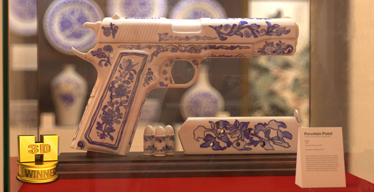 Interview With Yi Sun, The 1st Winner In Hum3D's Three D Gun 2 Competitio